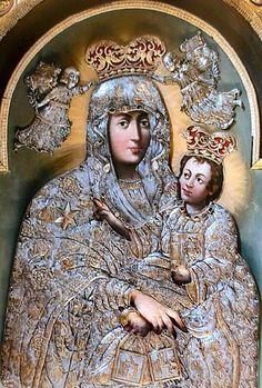Our Lady of scapular (Bydgoszcz), 1700, baroque