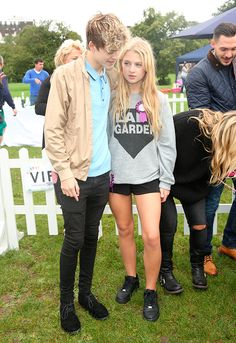 PupAid Puppy Farm Awareness Day 2015 held on Primrose Hill Anais Gallagher and Reece Bibby 5 September 2015 Anais Gallagher, Kai, Reece Bibby, New Hope Club, Gossip, Kicks, Interview, Bring It On, Celebs
