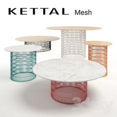 Kettal mesh tables