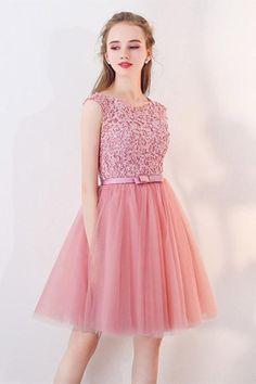 A Line Prom Dresses, Prom Dresses Short, #shortpromdresses, Knee Length Prom Dresses, Short Prom Dresses