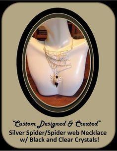 spider jewelry,spider web jewelry,orb weaver,spider,arachnid jewelry,s
