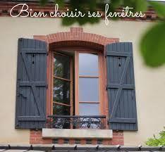R sultat de recherche d 39 images pour maison volets bleus ext - Lasure volet exterieur ...