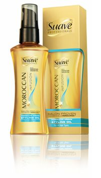 Suave Professionals® Moroccan Infusion Styling Oil  Can't wait to give this a try, I've always had great success with Suave products!  #SuaveFamily