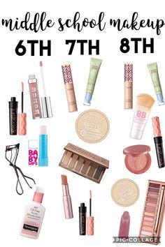 middle school makeup
