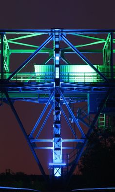 Illumination im LaPaNo (Landschaftspark Nord, Duisburg)