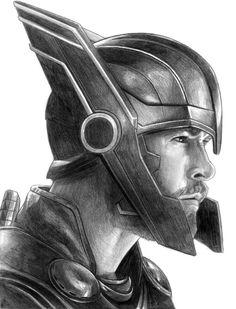 Thor ragnarok by sketches marvel drawings Thor ragnarok original pencil drawing Thor as seen in ragnarok pencil drawing by on deviantart Thor ragnarok Marvel Comics, Marvel Art, Marvel Heroes, Thor Marvel, Marvel Ragnarok, Loki Thor, Loki Laufeyson, Avengers Drawings, Avengers Art