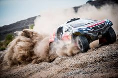 Team Peugeot Total overcomes the longest #Dakar2015 stage.. Follow the race online at  http://peugeotofficial.tumblr.com/tagged/video
