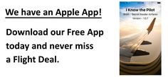 Our Free iOS App is ready! Never miss a deal.  | I Know The Pilot