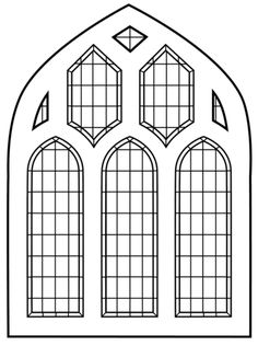 Exotic Stained Glass Window Coloring Pages Free – Coloring Cross Coloring Page, Coloring Pages To Print, Free Printable Coloring Pages, Colouring Pages, Free Coloring, Stained Glass Church, Stained Glass Windows, Window Glass, Glass Screen