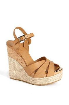 Jimmy Choo 'Peddle'  Wedge Sandal available at #Nordstrom