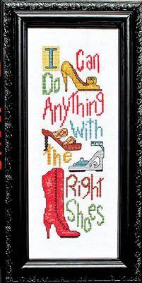 Right Shoes - Cross Stitch Pattern