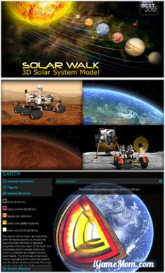 Explore Solar system on iPad #kidsapps #ScienceApps