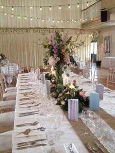 July 2014 Wedding Venue Decorations, Wedding Venues, Wedding Ideas, Table Decorations, Table Plans, Wedding Flowers, Table Settings, Tables, Weddings