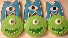 Monsters University cookies on Etsy, $28.00