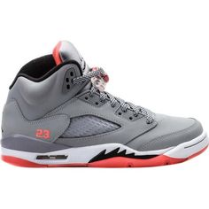 Air Jordan V (5) Retro (Kids) ($100) ❤ liked on Polyvore featuring shoes, jordan 5 and sneakers