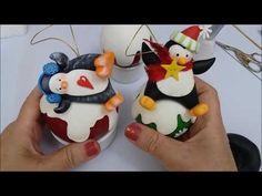 especial de natal 3 - bola pinguim - YouTube