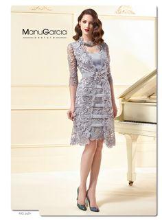 Tu vestido de fiesta en color plata by Manu García costura http://blog.higarnovias.com/2015/06/09/vestido-de-fiesta-en-color-plata/ #Entrebastidores #BlogHigarNovias