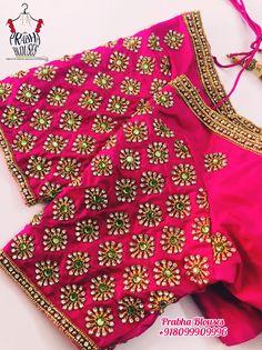 Wedding Saree Blouse Designs, Pattu Saree Blouse Designs, Half Saree Designs, Blouse Designs Silk, Hand Work Blouse Design, Simple Blouse Designs, Stylish Blouse Design, Sumo, Sleeve Designs
