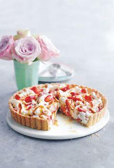 Une tarte printanière, estivale, automnale et même hivernale. Juste envie de l'adopter toute l'année !