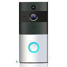 Loras Wi-Fi Video Doorbell, Wireless Doorbell Camera, Battery Powered Home Security Camera, Built-in 8G Card, Motion Detetion, Tamper Alarm, Infrared Night Vision, Two-Way Audio, 18650 Not Included.