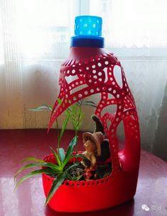 10 Fabulosas Formas de Reciclar Botellones de Plástico