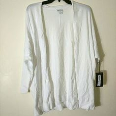 I just added this to my closet on Poshmark: White oversized cardigan. Price: $22 Size: L