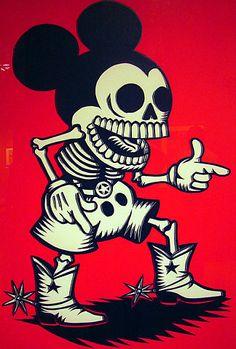 Dia de los Muertes Mickey