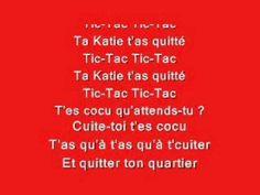 Boby Lapointe - Ta Katie t'as quitté avec paroles