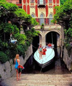 As captured by Slim Aarons in his new book, La Dolce Vita.