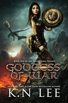 Goddess of War: An Epic Fantasy Adventure (Fallen Gods Book by [Lee, K. Cool Books, I Love Books, New Books, Fantasy Books To Read, Fantasy Book Covers, Best Motivational Books, Beautiful Book Covers, Books For Teens, Romance Books