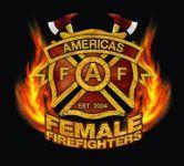 Americas Female Firefighters 2012 Calendar--cool badge.