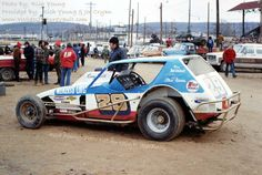Sprint Car Racing, Dirt Track Racing, Amc Gremlin, Cool Car Pictures, Old Race Cars, Vintage Race Car, Gremlins, Model Car, Car Stuff