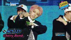 [HOT] NCT 127 - Cherry bomb, 엔시티 127 - 체리 밤 Show Music core 20170708