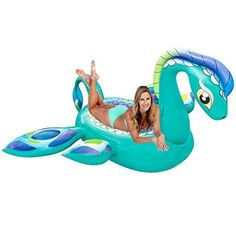 Swimming Accessories Shop For Cheap 180cm Giant Glitter Super Noodle 2018 Summer Sparkly Swimming Pool Float Air Mattress Water Party Inflatable Toys For Adult Kids Clear And Distinctive