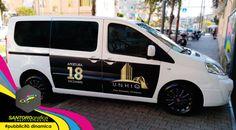 Solo i migliori lo dicono in movimento. pubblicità dinamica su taxi - santorografica www.santorografica.com  Utilizza un mezzo di trasporto come piattaforma pubblicitaria dalle infinite potenzialità per una comunicazione itinerante, diffondi il tuo brand ed infiltrarlo nella quotidianità.