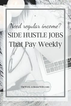 17 work at home jobs paying weekly business pinterest check