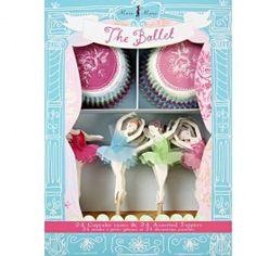meri meri cupcake set ballerina's 45-0571   ilovespeelgoed.nl