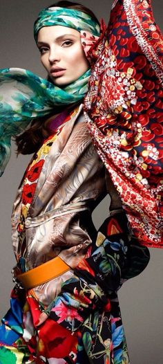 Silk Scarf Couture