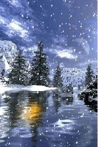 Animated wallpaper, screensaver for cellphone Christmas Scenery, Winter Scenery, Christmas Pictures, Christmas Art, Winter Christmas, Beautiful Winter Scenes, Illustration Noel, Winter Love, Winter Magic