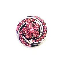 ROSE FLORAL TWIST SNAP JEWEL $6.95 http://www.sparklyexpressions.com/#1019