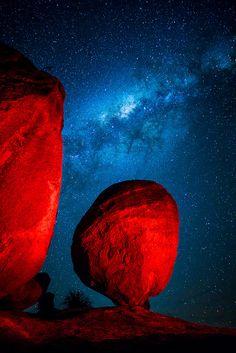 Milky Way, Girraween National Park, Queensland, Australia  Do you believe the beauty?!?