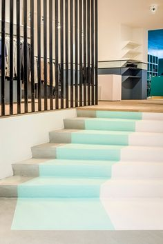 Cool stairs (the pelican studio, store, amsterdam)