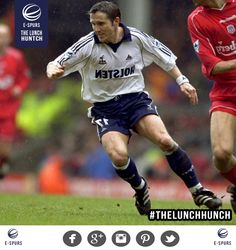 Here's the answer to today's #TheLunchHunch. Today's mystery Spur was...Oyvind Leonhardsen! More tomorrow!
