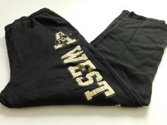 West Point Mens Sweatpants Size XL XLarge Black Army Athletic Basketball NCAA #Nike #Sweatpants