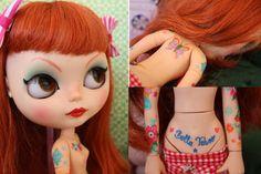 Bella Taboo  Custom Blythe OOAK Doll by GragueryFlaguer on Etsy, $390.00