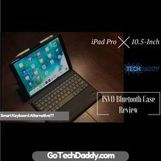 IVSO Bluetooth Keyboard Review for the iPad Pro 10.5  Here is Tech Daddy's Review of the IVSO Bluetooth Case for the iPad Pro 10.5-inch model. Sometimes you need a keyboard to do more heavy duty type work on your iPad and we have you covered!