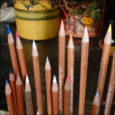 Picture of How To Sharpen Pastel Pencils