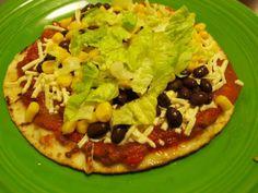 Speedy Mexican Pan Pizzas #vegan #pizza #recipe #yummy