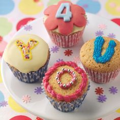 Message cupcakes recipe | BakingMad