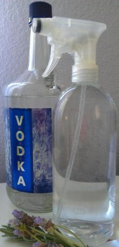 Diy Disinfecting Aromatic Vodka Spray Cleaner